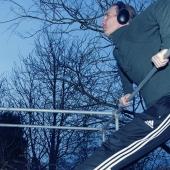 Træningsstativ muscle up