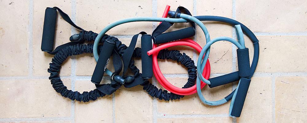 Træningselastikker slanger